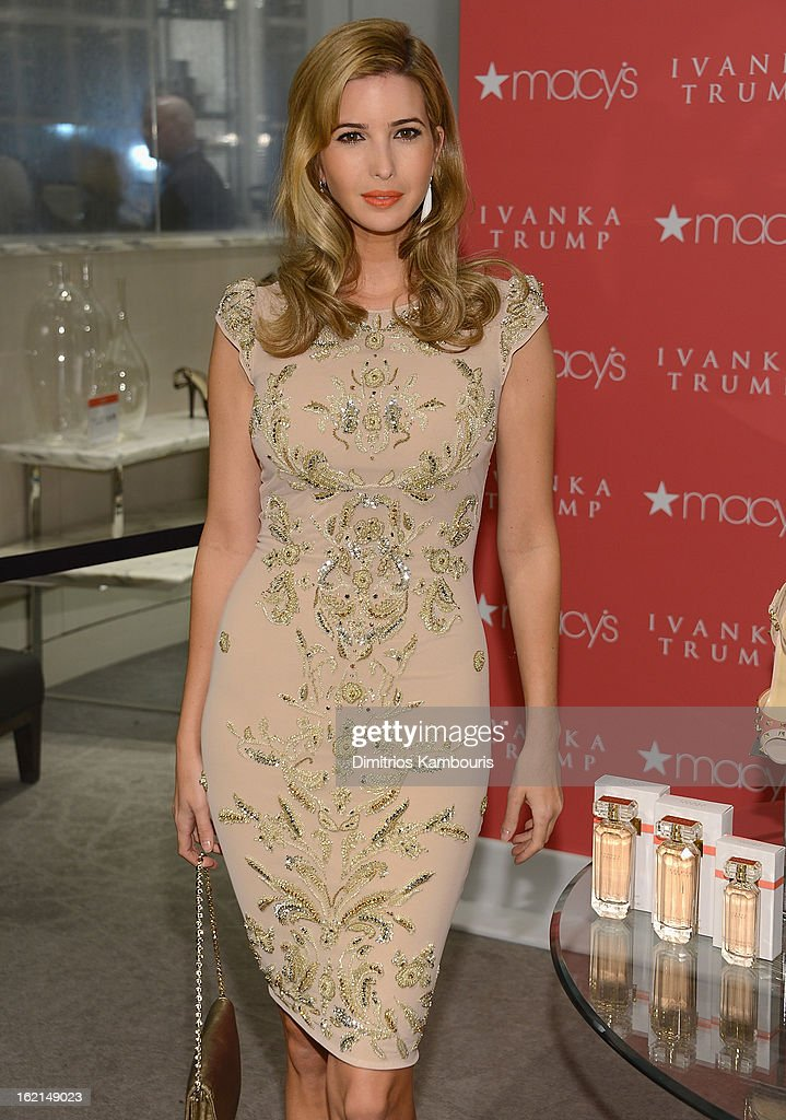 Ivanka Trump attends Ivanka Trump Fragrance Launch at Macy's Herald Square on February 19, 2013 in New York City.