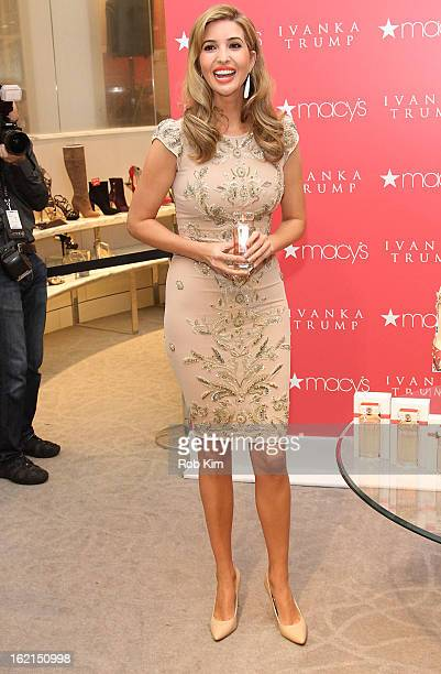 ff9a396fe0c5b Ivanka Trump attends Ivanka Trump Fragrance Launch at Macy's Herald Square  on February 19 2013 in