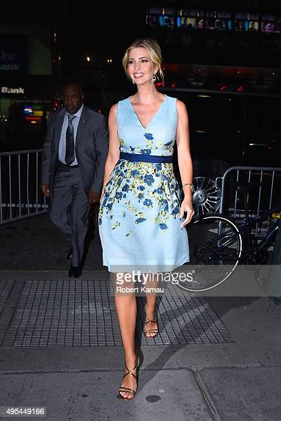 Ivanka Trump attends the 18th Annual Accessories Council ACE Awards at Cipriani 42nd Street on November 2 2015 in New York City