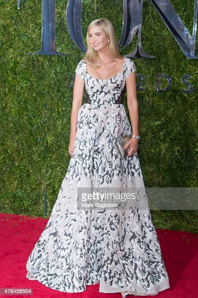 Ivanka Trump attends the American Theatre Wing's 69th Annual Tony Awards at Radio City Music Hall on June 7 2015 in New York City