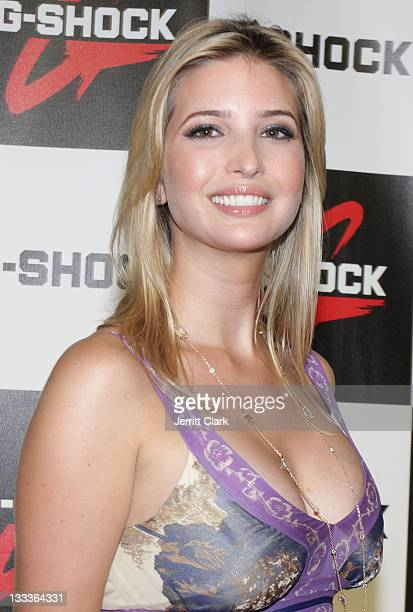 Ivanka Trump attends the Casio GShock Shock The World Tour at Cipriani Wall Street on August 5 2009 in New York City