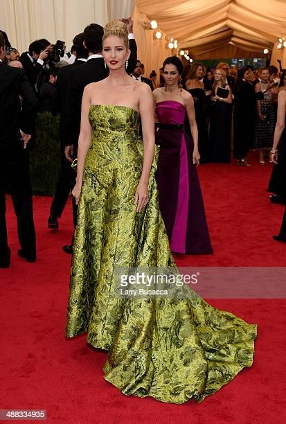 Ivanka Trump attends the Charles James Beyond Fashion Costume Institute Gala at the Metropolitan Museum of Art on May 5 2014 in New York City