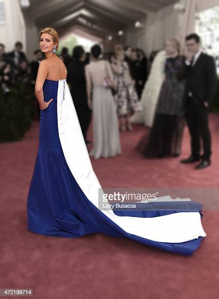 Ivanka Trump attends the China Through The Looking Glass Costume Institute Benefit Gala at the Metropolitan Museum of Art on May 4 2015 in New York...