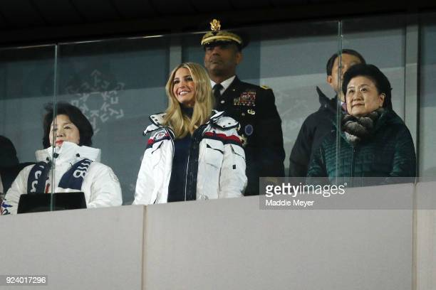 Ivanka Trump attends the Closing Ceremony of the PyeongChang 2018 Winter Olympic Games at PyeongChang Olympic Stadium on February 25, 2018 in...