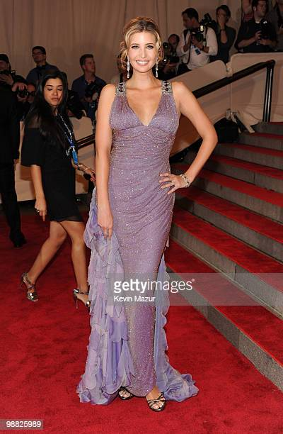 Ivanka Trump attends the Costume Institute Gala Benefit to celebrate the opening of the 'American Woman Fashioning a National Identity' exhibition at...