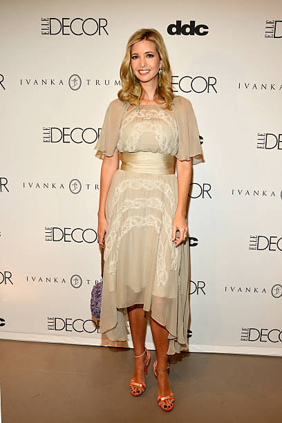 Ivanka Trump attends the Ivanka Trump 'Elle Decor' October Cover Issue  Celebration at DDC
