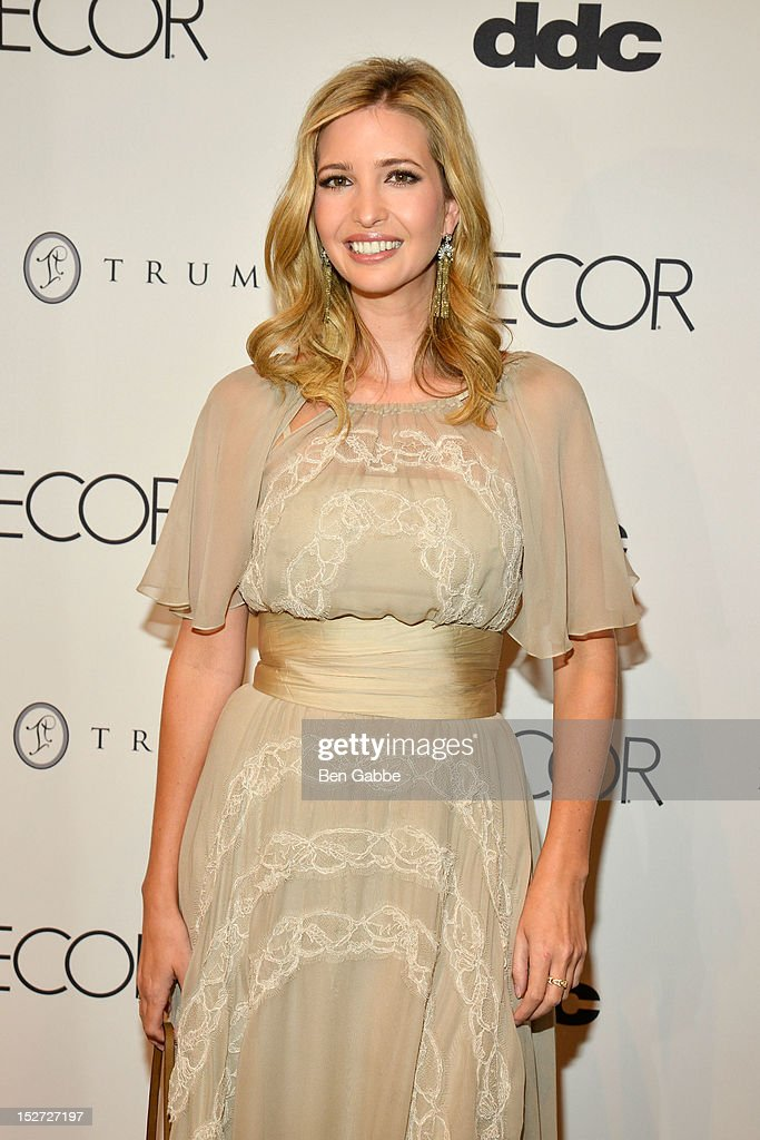 "Ivanka Trump ""Elle Decor"" October Cover Issue Celebration"