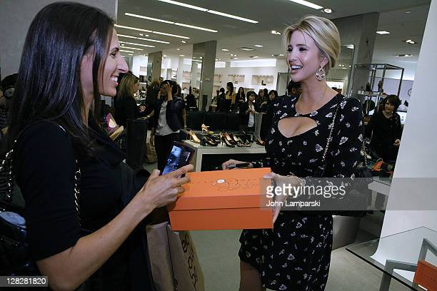 Ivanka Trump attends the Ivanka Trump footwear collection fall 2011 launch at Bloomingdale's 59th Street Store on October 5 2011 in New York City