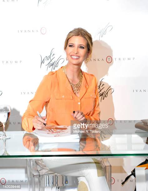 Ivanka Trump Fashion Stock Photos and Pictures