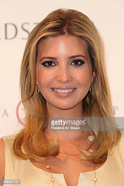 Ivanka Trump attends the Launch of Her Spring 2011 Lifestyle Collection of Footwear at the Topanga Nordstrom on February 17 2011 in Canoga Park...