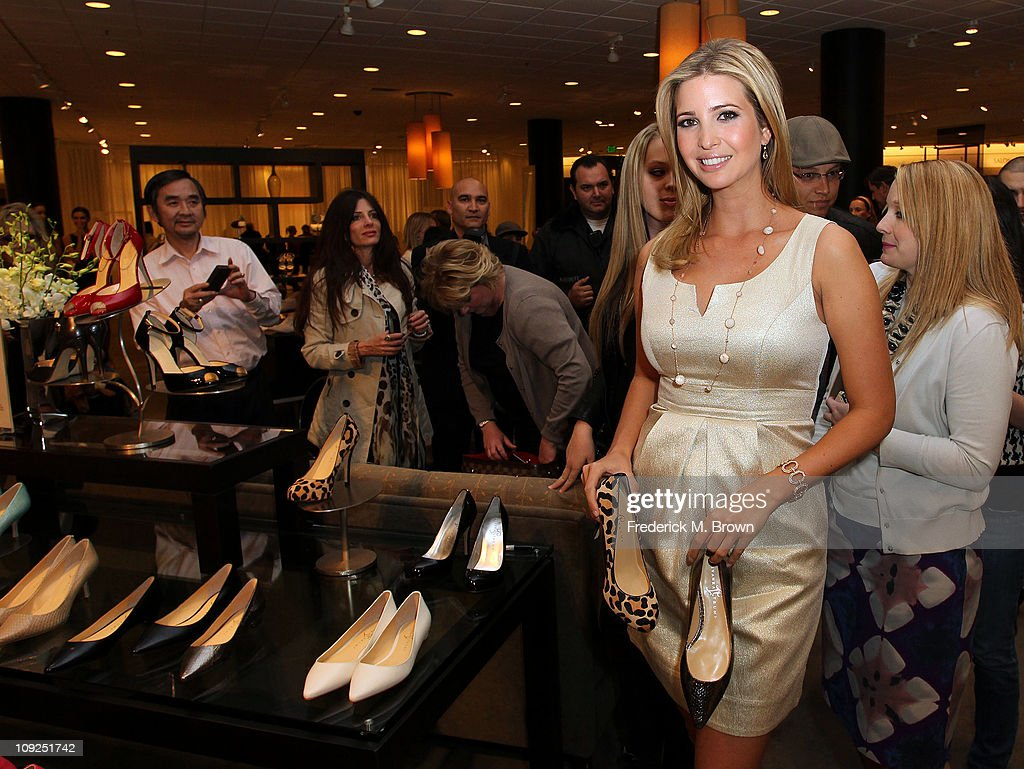 Ivanka Trump attends the Launch of Her Spring 2011 Lifestyle Collection of Footwear at the Topanga Nordstrom on February 17, 2011 in Canoga Park, California.