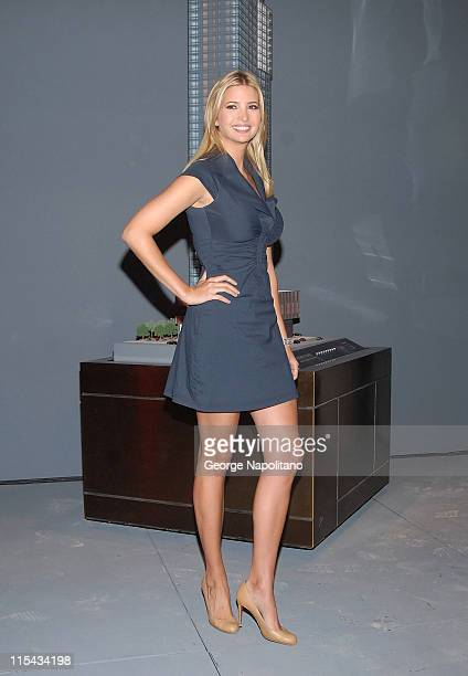 Ivanka Trump attends the launch of Trump Soho Hotel Condominium at 246 Spring Street in New York City on September 19 2007