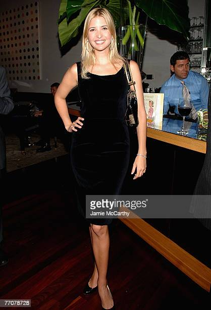 OUT Ivanka Trump attends the Launch Party for Jessica Seinfeld's book Deceptively Delicious hosted by Rupert Murdoch Wendi Murdoch and Jane Friedman...