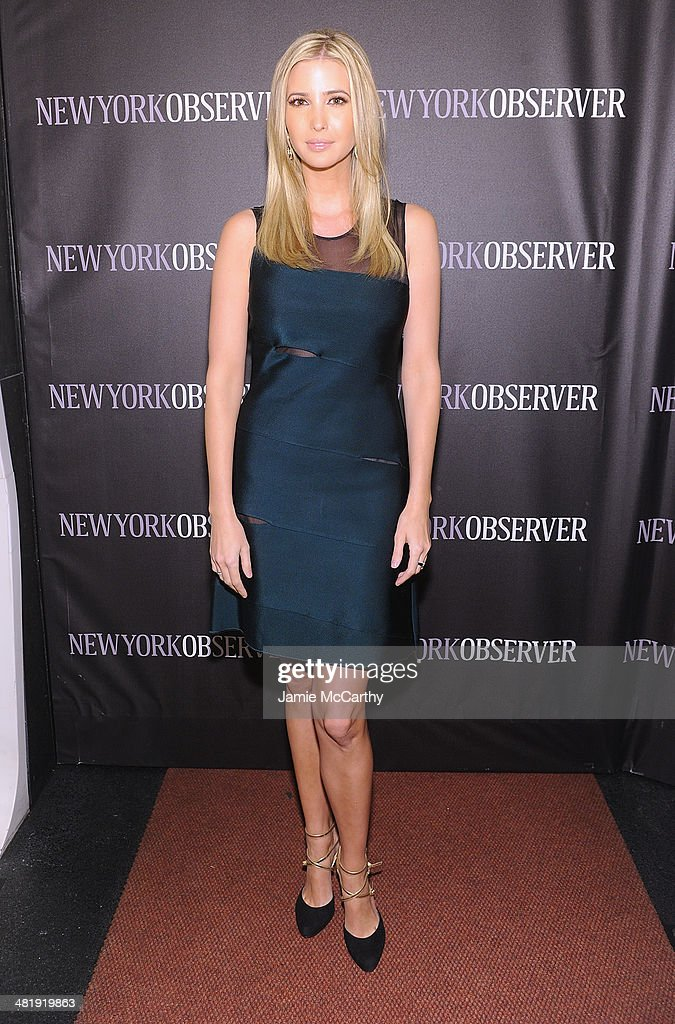 Ivanka Trump attends The New York Observer Relaunch Event on April 1, 2014 in New York City.