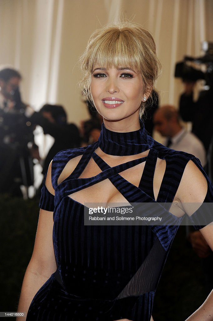 Ivanka Trump attends the 'Schiaparelli And Prada: Impossible Conversations' Costume Institute Gala at the Metropolitan Museum of Art on May 7, 2012 in New York City.