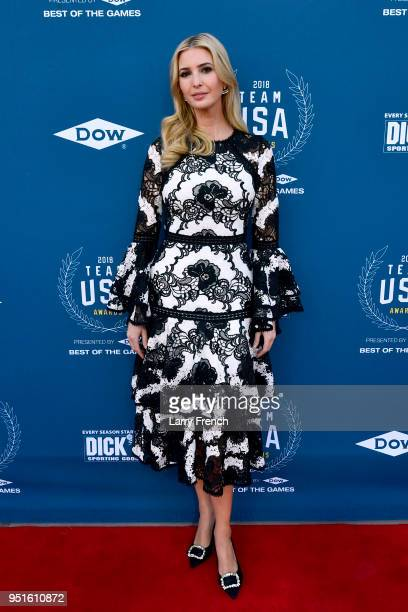 Ivanka Trump attends the Team USA Awards at the Duke Ellington School of the Arts on April 26 2018 in Washington DC