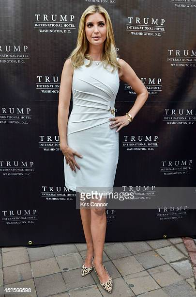 Ivanka Trump attends the Trump International Hotel Washington, D.C Groundbreaking Ceremony at Old Post Office on July 23, 2014 in Washington, DC.
