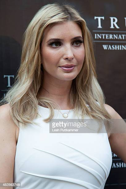 Ivanka Trump attends the Trump International Hotel Washington, D.C Groundbreaking Ceremony on July 23, 2014 in Washington, DC.