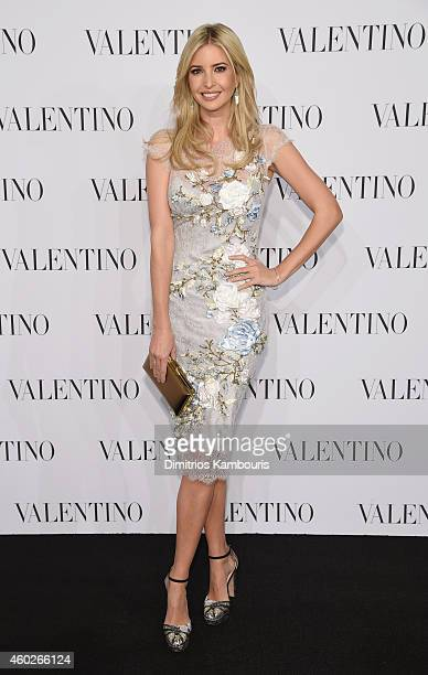 Ivanka Trump attends the Valentino Sala Bianca 945 Event on December 10 2014 in New York City