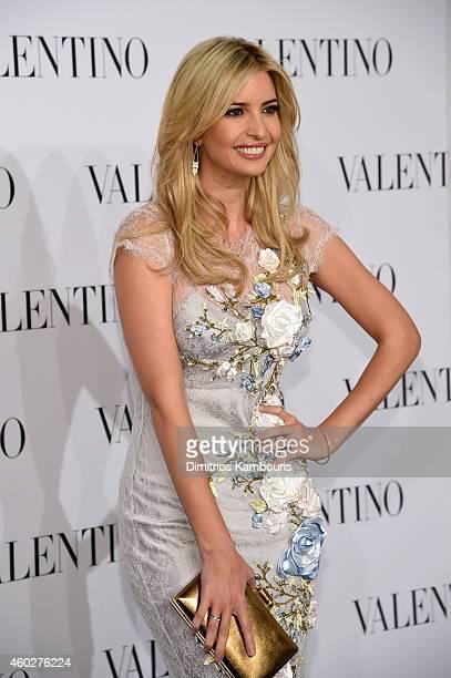 Ivanka Trump attends the Valentino Sala Bianca 945 Event on December 10 2014 in New York City