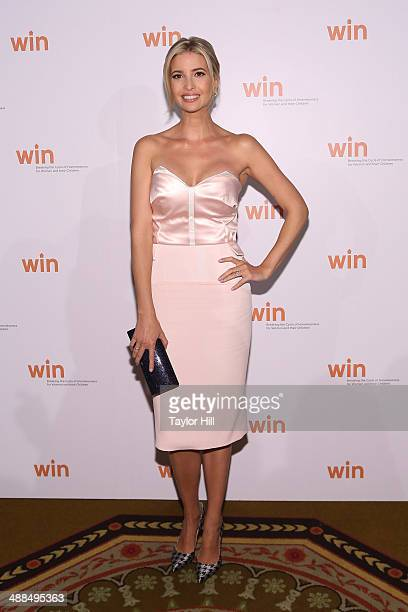 Ivanka Trump attends the Way To Win Dinner 2014 at The Waldorf=Astoria on May 6 2014 in New York City