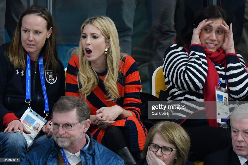 Ivanka Trump Attends Day 15 of PyeongChang Winter Olympics