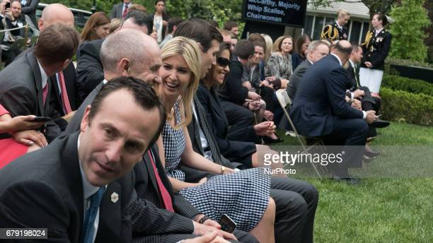 Ivanka Trump daughter and assistant to President Trump Jared Kushner soninlaw and senior advisor to President Trump and Dina Powell US Deputy...