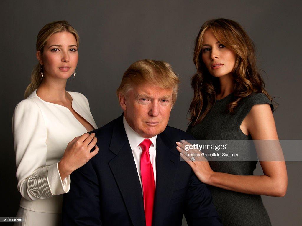 Ivanka Trump Donald And Melania Knauss