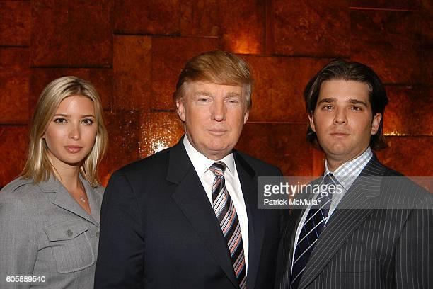 Ivanka Trump Donald Trump Donald Trump and Jr attend Donald Trump Launches His First Luxury Development in Panama Trump Ocean Club International...
