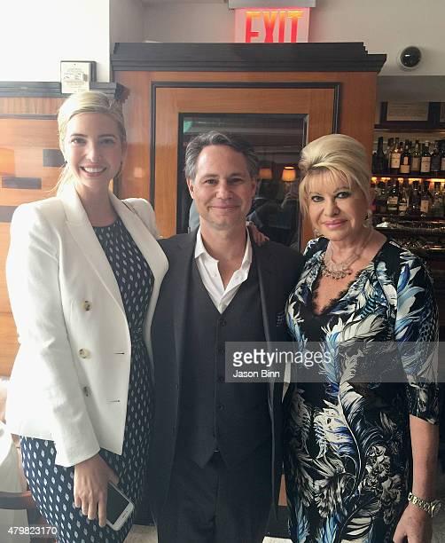 Ivanka Trump DuJour Media Founder Jason Binn and Ivana Trump circa June 2015 in New York City