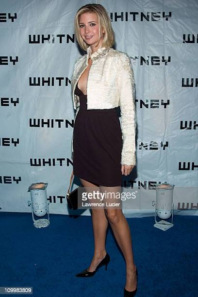 Ivanka Trump during 2005 Whitney Gala After Party at Whitney Museum in New York City New York United States