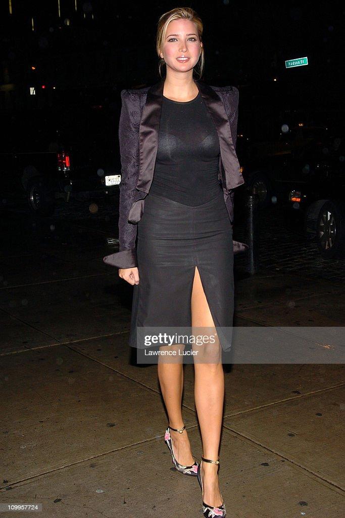 Ivanka Trump during Alfie New York City Private Screening at Soho House in New York City, New York, United States.