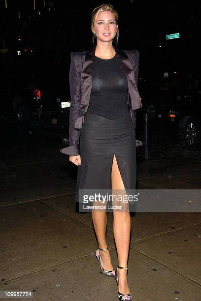 Ivanka Trump during Alfie New York City Private Screening at Soho House in New York City New York United States
