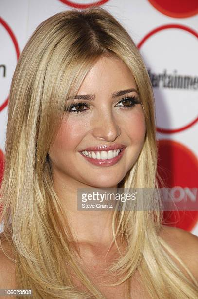 Ivanka Trump during Entertainment Weekly Magazine 4th Annual PreEmmy Party Arrivals at Republic in Los Angeles California United States