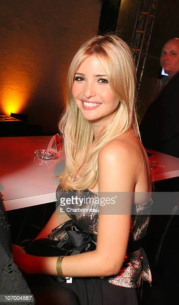Ivanka Trump during Entertainment Weekly Magazine 4th Annual PreEmmy Party Inside at Republic in Los Angeles California United States