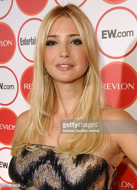 Ivanka Trump during Entertainment Weekly Magazine 4th Annual Pre-Emmy Party - Red Carpet at Republic in Los Angeles, California, United States.