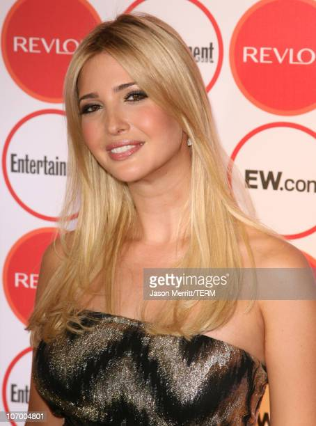 Ivanka Trump during Entertainment Weekly's 4th Annual PreEmmy Party at Republic in West Hollywood California United States