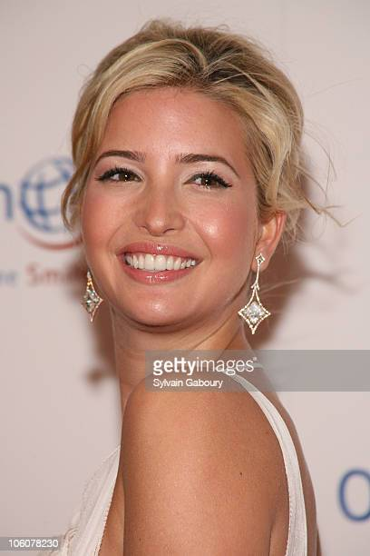 Ivanka Trump during Operation Smile's The Smile Collection at Skylight Studios in New York, NY, United States.