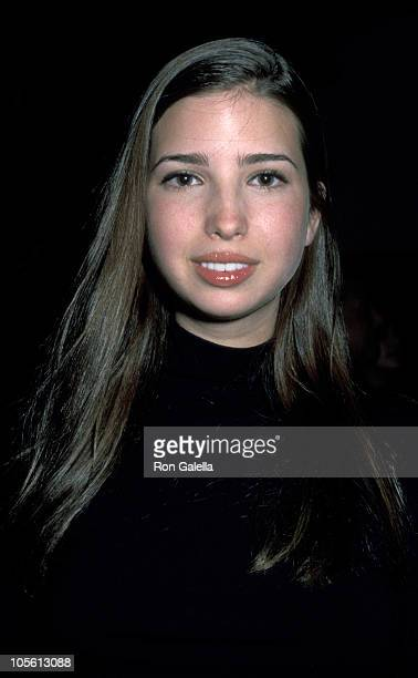 Ivanka Trump during Private Soiree by Count Roffredo Gaetani D' Aragona December 7 1999 in New York City New York United States