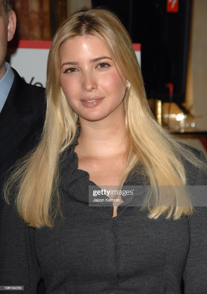 Ivanka Trump during Salvation Army Fundraising Kickoff with Trump Family - November 20, 2006 at Trump Tower in New York City, New York, United States.