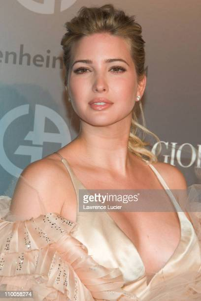 Ivanka Trump during Solomon R Guggenheim Museum's Young Collectors Council 2006 Artists Ball Sponsored By Giorgio Armani at Solomon R Guggenheim...