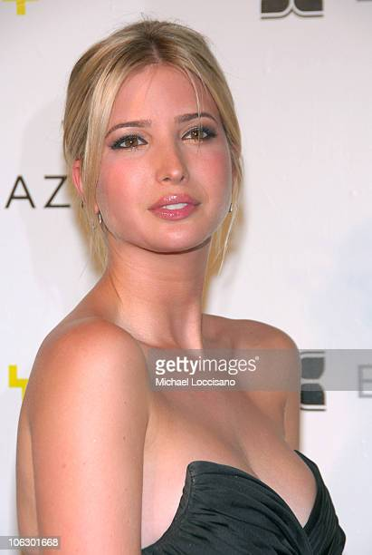 Ivanka Trump during The 2007 Annual Whitney Art Party at Skylight Studios in New York City New York United States