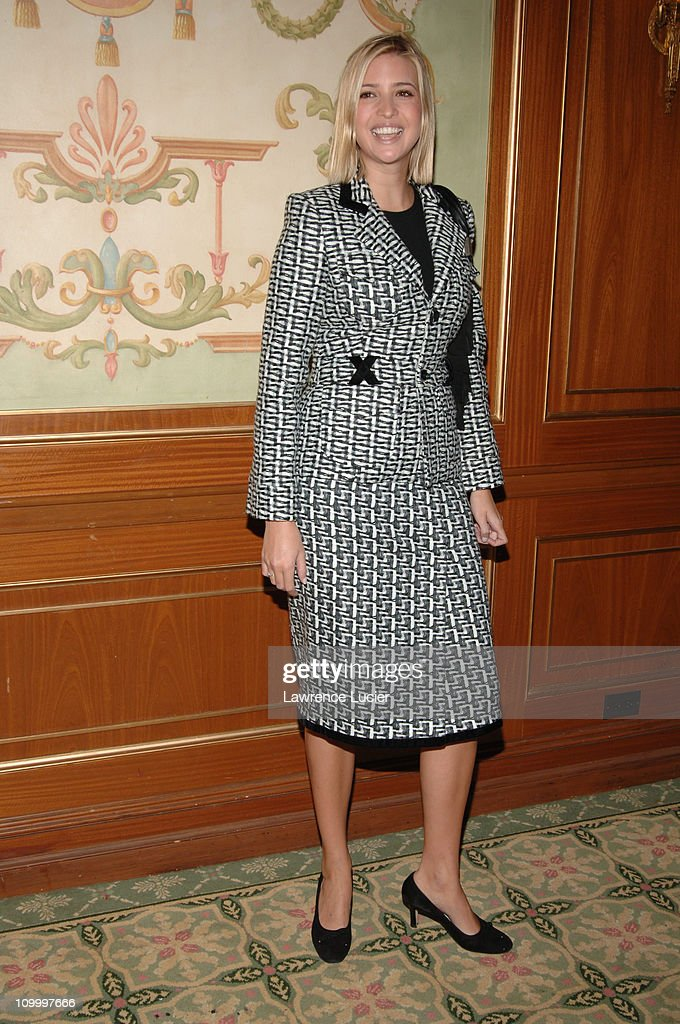 Ivanka Trump during The Police Athletic League's 17th Annual Woman of the Year Luncheon at Pierre Hotel in New York City, New York, United States.