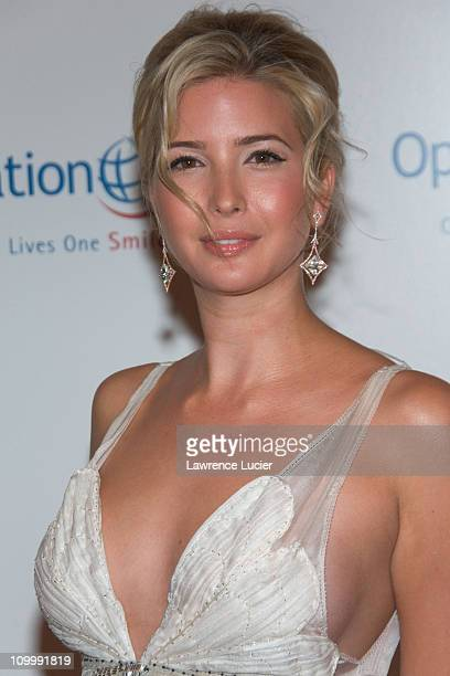 Ivanka Trump during The Smile Collection Operation Smile's Annual Charity Dinner and Live Auction at Skylight Studios in New York NY United States