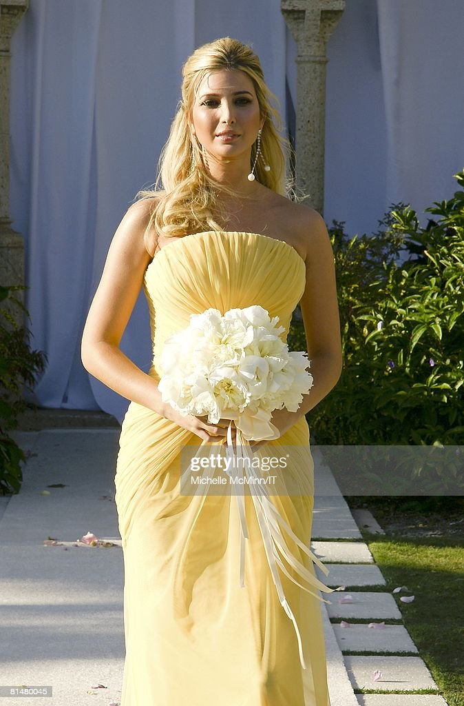 RATES - Ivanka Trump during the wedding of Ivana Trump and Rossano ...