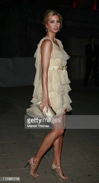 Ivanka Trump during Vanity Fair Hosts The Sixth Annual Tribeca Film Festival Opening Night Party April 24 2007 at New York State Supreme Court in New...