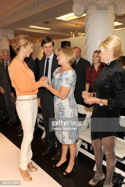 Ivanka Trump Jared Kushner Bonnie Brooks and Ivana Trump attend LORD TAYLOR Launches IVANKA TRUMP's Spring 2012 Collection at Lord Taylor on March 28...