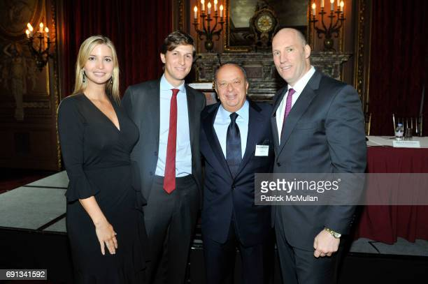 Ivanka Trump Jared Kushner Stanley Chera and Rob Stuckey attend The New York Observer Hosts MASTERS OF REAL ESTATE at The Metropolitan Club on...