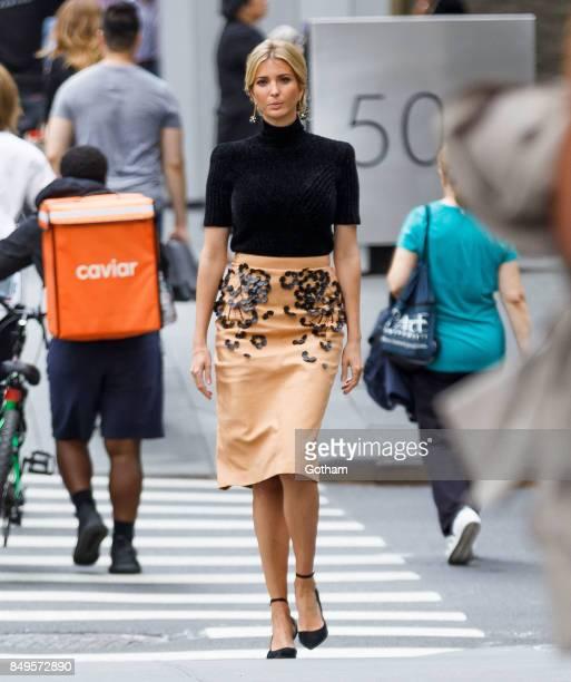 Ivanka Trump on September 19 2017 in New York City