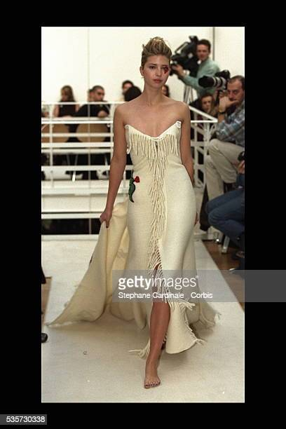 Ivanka Trump on the catwalk
